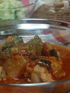 手羽元のトマトソース煮