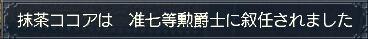 抹茶:準七等勳爵士