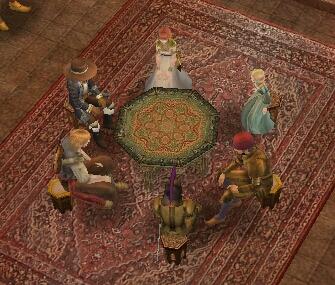 抹茶:円卓のポーカー