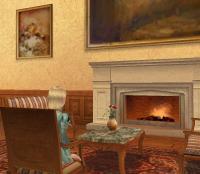 抹茶:アパートの暖炉
