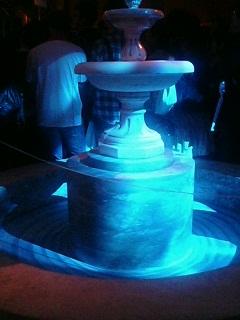 古都の噴水