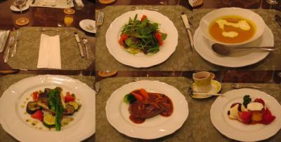 退院前夜のディナー 20070305