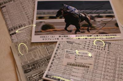 記念品の数々 20080301 高知競馬にて