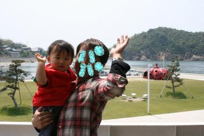 直島到着!! 20080516
