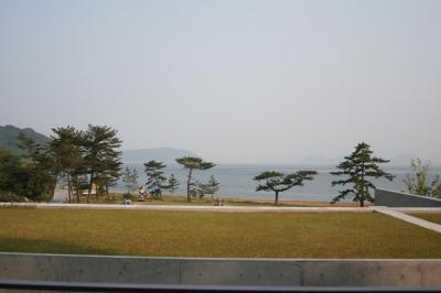 部屋からの眺め @ベネッセハウス 20080516 直島