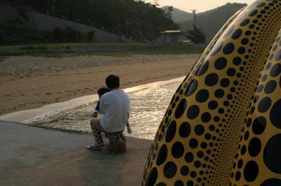 キラキラ朝日 20080517 直島