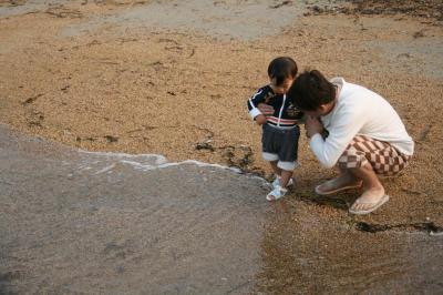はじめての海★ 20080517 直島