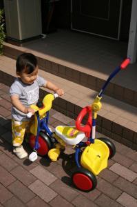 GOONで三輪車貰ったよ! 20080526