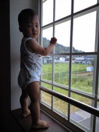窓際で。。。 20080728 しゅうと