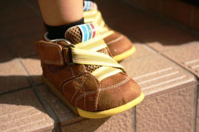 新しい靴だよ♪ 20081002
