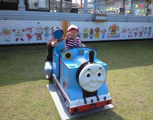 トーマスに乗って♪ 20081011 きしゃぽっぽまつり