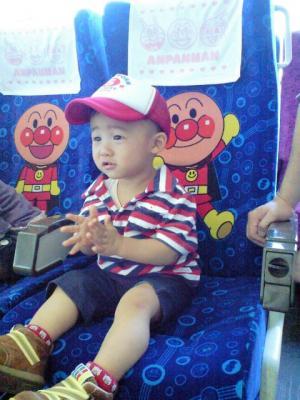 アンパンマンシート 20081011 きしゃぽっぽまつり
