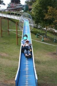 エックススライダー with パパ 20081018 まんのう公園