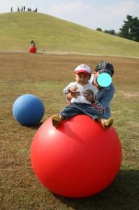 ボールで遊ぼ♪ 20081018 まんのう公園