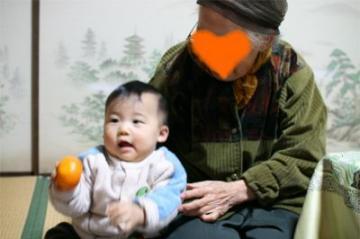 しゅうと 20080103 曾祖母と