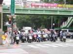 台湾のバイク1