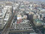 札幌駅JRタワー38階からの景観