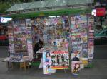 雑誌の売店