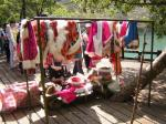 チベット族の貸衣装1