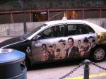 スターワールドホテル広告付きタクシー2