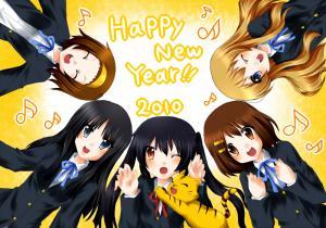 【2010年賀状】けいおん!