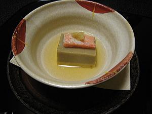 蟹みそ豆腐