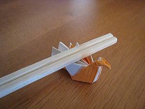 鶴の箸置き