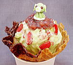 お茶犬オリジナルマジックアイス