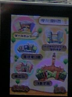 ゲーム画面マップ