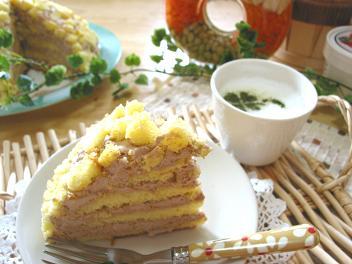 ミモザケーキ