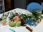 そんな訳で花材下準備完了写真