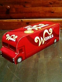 wonkaチョコトラック