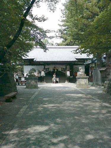真田神社です