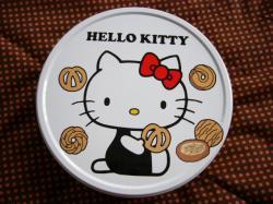 キティちゃんの缶クッキー