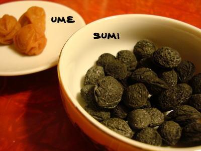 梅干 & 梅種炭
