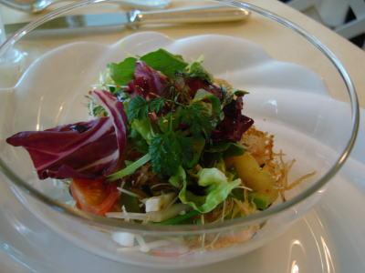 (魚料理)白身魚と70種類の野菜とクスクスのサラダ [ハピネス]