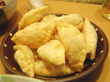 ハムチーズ餃子