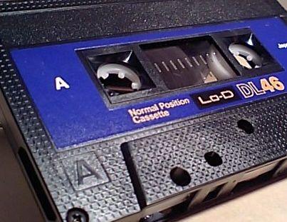 日立のカセットテープ