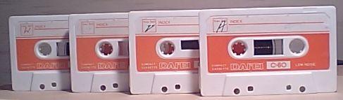 ダイエーのカセットテープ