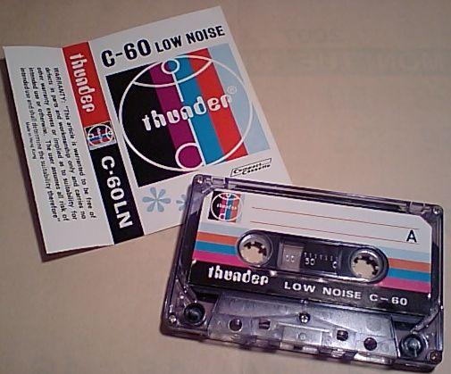 thunderのテープ