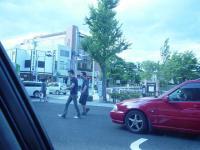 松本城入口