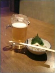 晩餐会にて(笑)