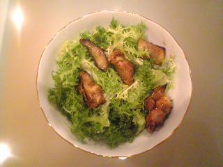 鳥粕漬けサラダ