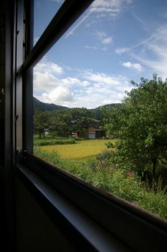 米坂線で のんびりと