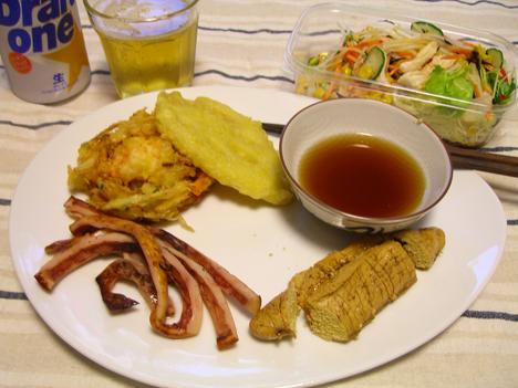 惣菜で晩ご飯♪