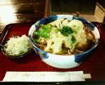 ささやの天ぷら蕎麦