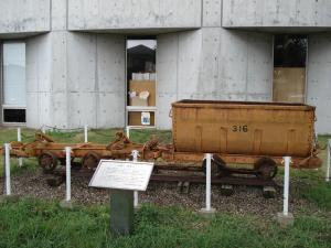 台車と炭車