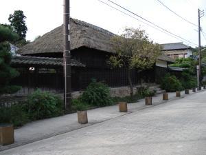 松村任三生家と長屋門