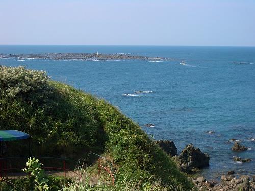 入道崎水島