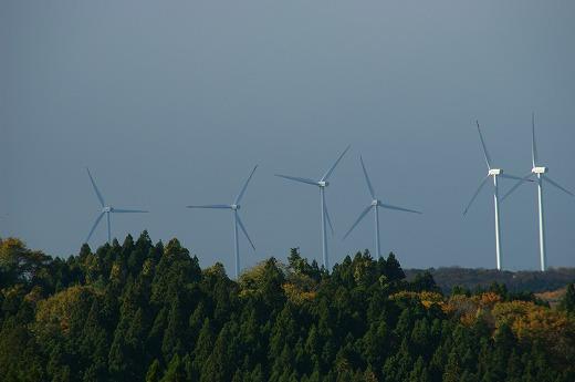 仁賀保高原の風車